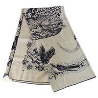 エルメス 19AW H243352S 01 JungleLoveTattoo shawl 140 画像